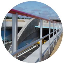 Skydds- och industriräcken hos Montal AB.